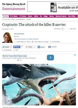 Craptastic-The attack of the killer B movies